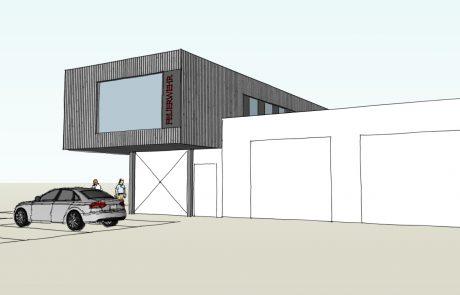 Erweiterung Bestandsgebäude Feuerwehr