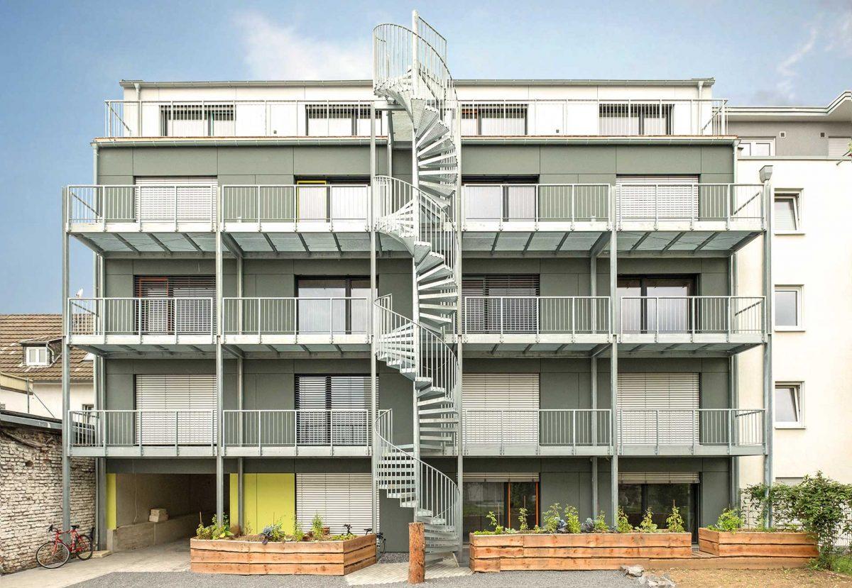 Studentenwohnheim 42, Bonn, Kay Künzel, raum für architektur