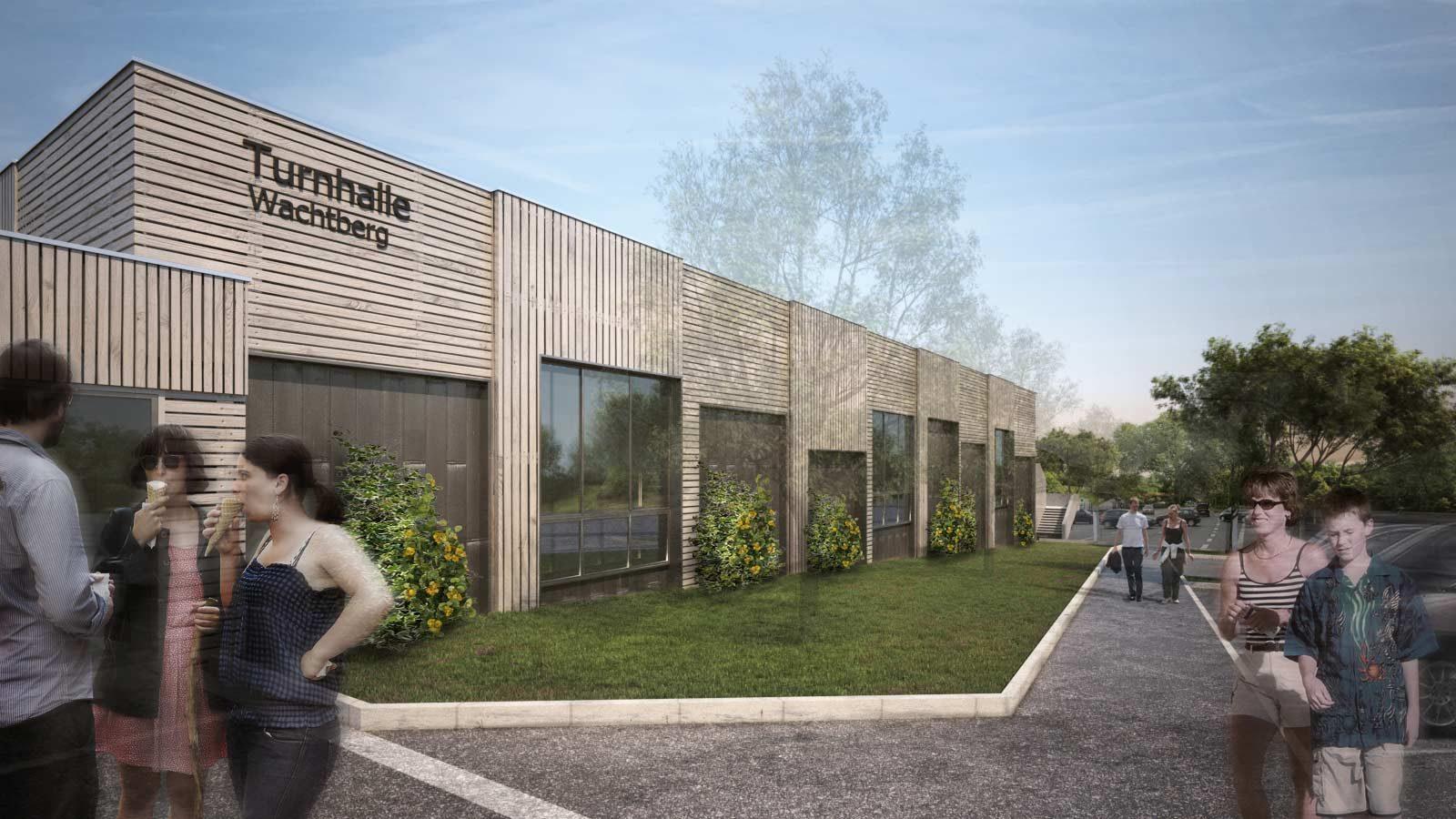 Sportpark, Sporthalle, Wachtberg, Kay Künzel, raum für architektur